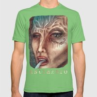 Facial Mens Fitted Tee Grass SMALL