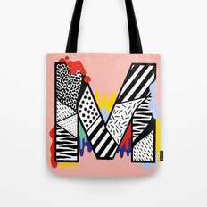 M for ... Tote Bag