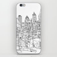 London! iPhone & iPod Skin