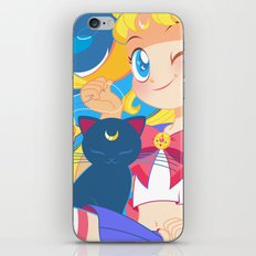 Sailor Moon by Bunny iPhone & iPod Skin