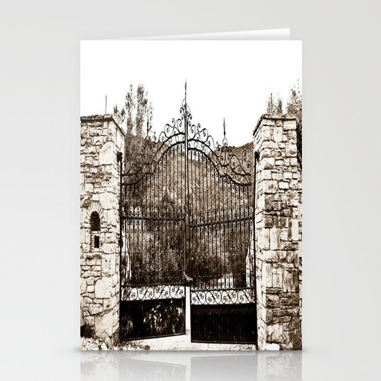 Old Gates Stationery Card