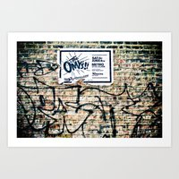The Omys Art Print
