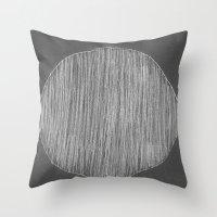 Chalk Throw Pillow