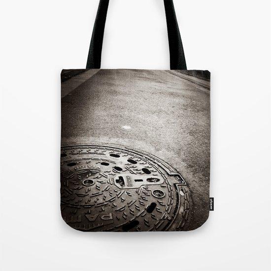 Manhole Tote Bag
