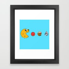 The Dog Framed Art Print