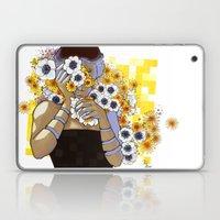 Sleep Under The Petals Laptop & iPad Skin