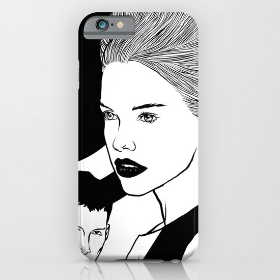 PRINT No 9 iPhone & iPod Case