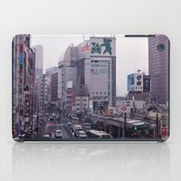 Shinjuku Skyline iPad Case