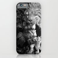 iPhone & iPod Case featuring Lion by Brittany Garrett