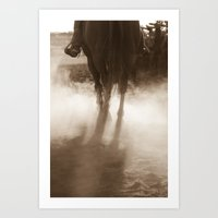 Coyboy Dust Art Print