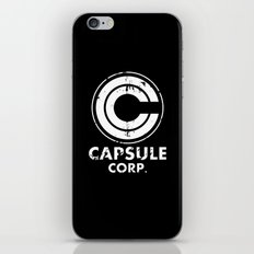 Capsule Corp Vintage white iPhone & iPod Skin