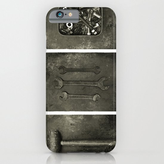 Dad used to make things (triptych one) iPhone & iPod Case