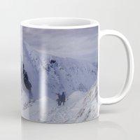 Hiking on top of The World Mug
