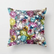 Delicious Colors Throw Pillow