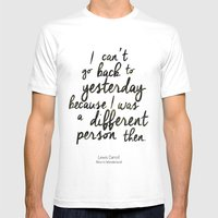 Different person Mens Fitted Tee White SMALL