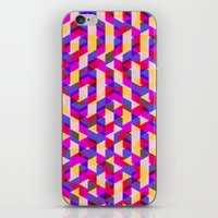 Myth Syzer - Neon (Pattern #12) iPhone & iPod Skin