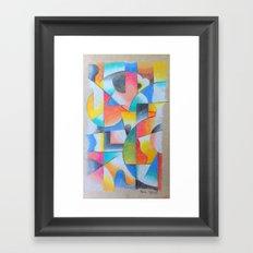 TV II Framed Art Print