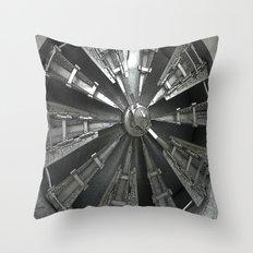 Raw Power Throw Pillow