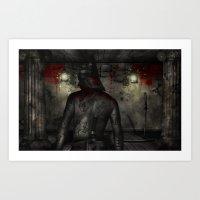 Dark Room Killer Art Print