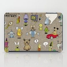 Small Monsters iPad Case