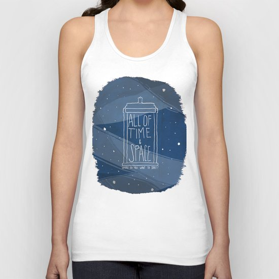 All Of Time And Space Unisex Tank Top
