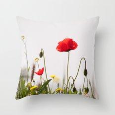 Spring Flora 1086 Throw Pillow