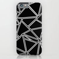 iPhone & iPod Case featuring Shattered Ab Zoom  by Project M