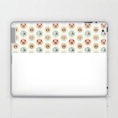 Circle Pup Pattern Laptop & iPad Skin