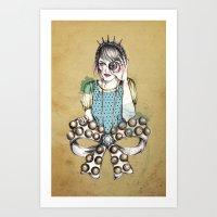 Through The Jewel Case Art Print