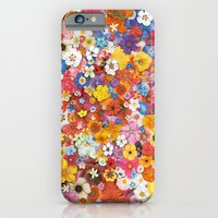 iPhone Cases featuring Flower by Ben Giles