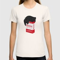 Smoker's Face Womens Fitted Tee Natural SMALL