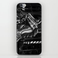 Crazy Horses Mono iPhone & iPod Skin