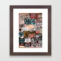 Los Angeles #54 Framed Art Print