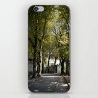 Cimetiere De Montmartre iPhone & iPod Skin