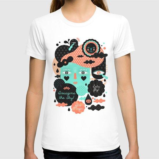 Imagine the sky T-shirt