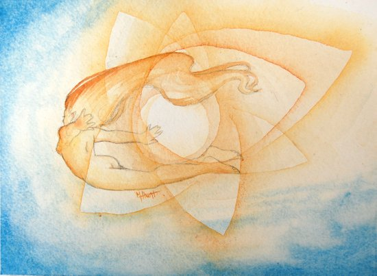 Arien Art Print