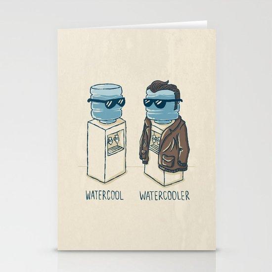 Watercool Stationery Card