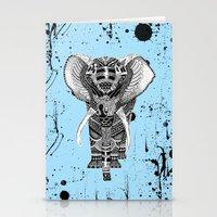 PETITE ELEPHANT. Stationery Cards