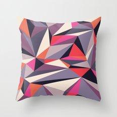 Diamonoid: Autumn Soirée Throw Pillow