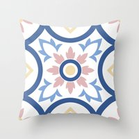 Floor Tile 2 Throw Pillow