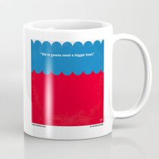 No046 My Jaws minimal movie poster Mug