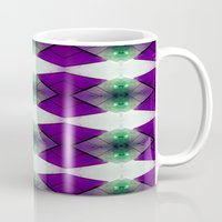 Purple Diamonds Mug