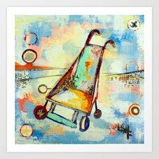 stroller Art Print