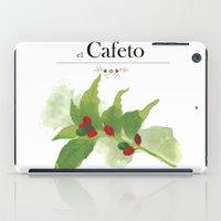 el Cafeto (coffee plant) iPad Case