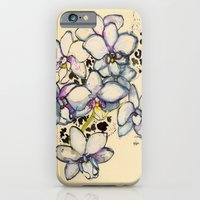 White Orchids iPhone 6 Slim Case