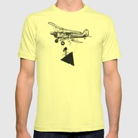 The Catcher Mens Fitted Tee Lemon SMALL