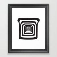 Make Me A Sandwich Framed Art Print