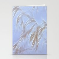 Winter Grasses Stationery Cards
