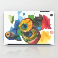 Colorful fish 3 iPad Case