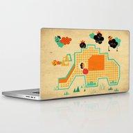 Elephant Playground Laptop & iPad Skin